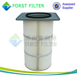 Forst Polyester Round Dust Catcher Filter Cartridge pictures & photos