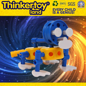 Children′s Plastic Desktop Intellectual Building Brick Toy pictures & photos