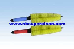 Small Mini Plastic Tyre Brush, Cleaning Car Wash Brush (CN1834) pictures & photos