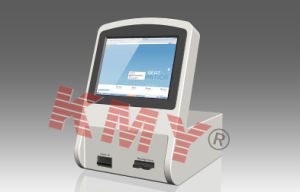 Touch Screen Desktop Kiosk with Printer for Card Dispensing pictures & photos