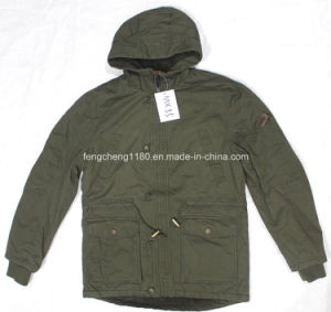 Winter Men Washing Leisure Jacket/Coat with Hood pictures & photos