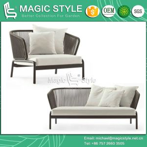 New Design Tape Weaving Sofa Set Modern Sofa Set Outdoor Sofa Set pictures & photos