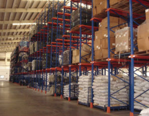 Drive in Drive Thru Warehouse Storage Pallet Racking pictures & photos