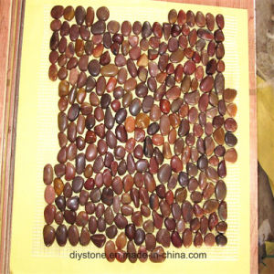 Red Paving Pebble for Garden Paving Path pictures & photos