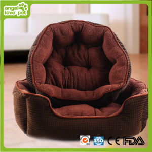 Suede Fabric Thicken and Warm Pet Bed (HN-pH565) pictures & photos