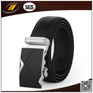 3.5cm Automatic Buckle Classical Men′s Genuine Leather Belt (HJ3103) pictures & photos
