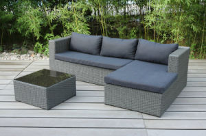 Modern Customized Rattan Sectional Lounge Sofa Set Outdoor Furniture (FS-2425+FS-2426+FS-2427) pictures & photos