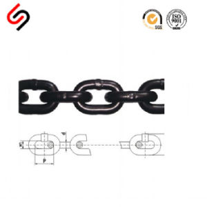 DIN 763 Black Welded Steel Link Chain pictures & photos