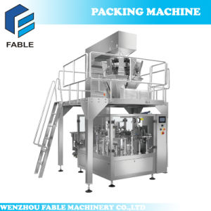 PLC Colorful Panel Rotary Packing Machine for Walnut (FA8-200-S) pictures & photos