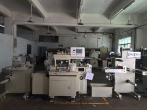 Automatic High Speed Die Cutting and Hot Stamping Machine