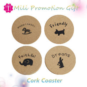 Custom Home Decoration Gift Cork Coaster Cup Mat Pad pictures & photos