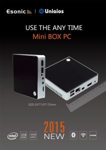 2015 New Design Mini Box PC, 4 Cores, Support Win10 & Andriod & Linux pictures & photos
