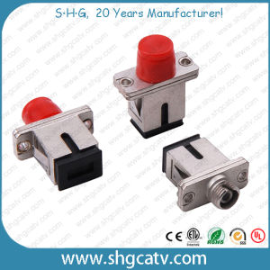 High Quality Sc - FC Fiber Optical Adapters pictures & photos