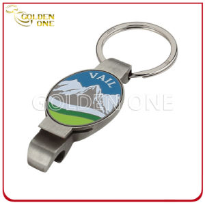 Promotional Gift Custom Printed Metal Bottle Opener Key Ring pictures & photos
