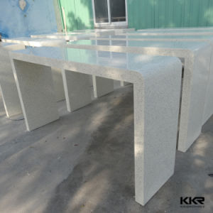 Modern Bar Furniture White Solid Surface Stone Food Bar Table pictures & photos