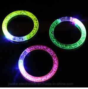 Acrylic LED Flashing Bracelets with Logo Printed (4019) pictures & photos