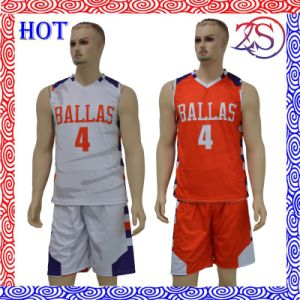 Sublimation Sports Reversible Basketball Sports Wear pictures & photos