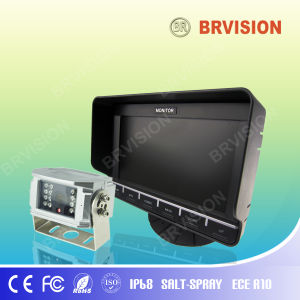 Hottest TFT Rearview System with Touch Button Supporting 2-CH pictures & photos