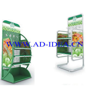 Juicy Display Rack/Exhibition for Drink (FDR-002) pictures & photos