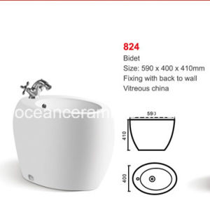 Bidet Ceramic Sanitary Ware for Women No. 824 pictures & photos