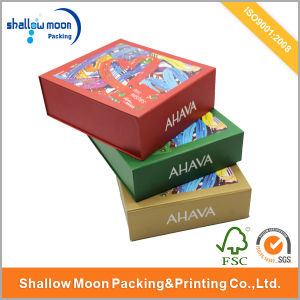 Coloured Book Shaped Boxes Custom Paper Box with Logo pictures & photos