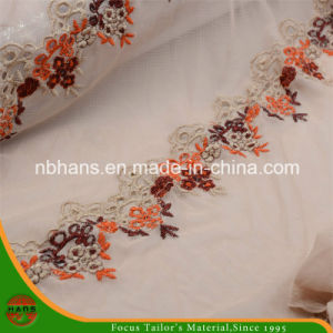 Tulle Lace Embroidery for Lady′s Garment (HATL160004) pictures & photos