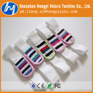 Nylon Material Hook and Loop Elastic Velcro pictures & photos