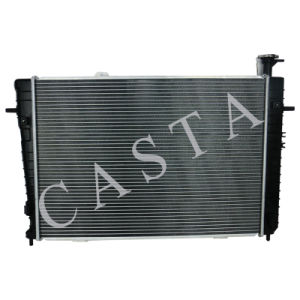 High quality auto radiator for Hyundai Tusion (04-) AT pictures & photos