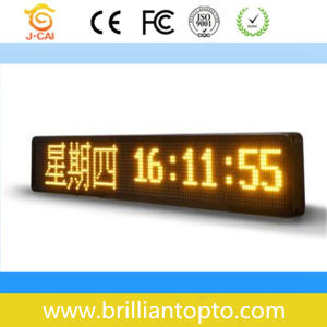 High Quality Indoor LED Module for Message Display (P7.62) pictures & photos