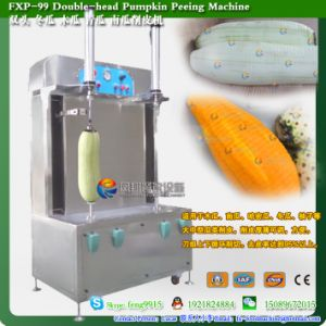 Double Head Electric Automatic Winter Melon Skinning Machine pictures & photos