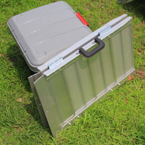 Aluminium Folded Wheelchair Ramp for Van ATV etc. pictures & photos