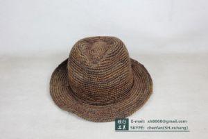 Trilby Raffia Hat (OT-XH8020) pictures & photos
