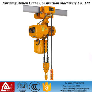 Remote-Control Electric Cable Hoist with Monorail Trolley pictures & photos