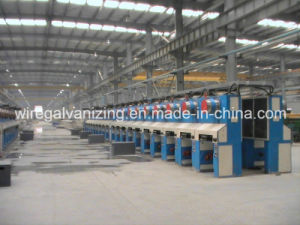 Steel Wire Pay-off Pickling Annealing Take-up Production Line pictures & photos