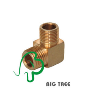 High Quality Brass Elbow Pipe Fitting/Connector Male pictures & photos