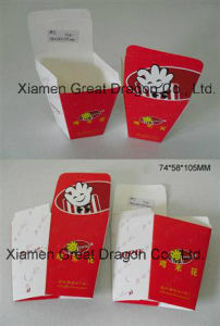 Disposable Paper Food Tray, Holds Nachos, Fries, Hot Dogs (GD-PCB001) pictures & photos