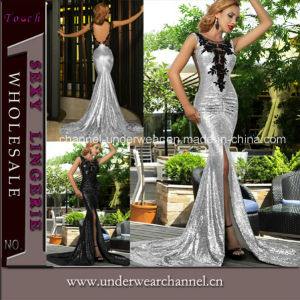 Newest Fashion Lady Sequin Cocktail Mermaid Prom Party Dress (T60684) pictures & photos