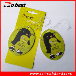Advertising Promotional Paper Hanging Car Air Freshener pictures & photos