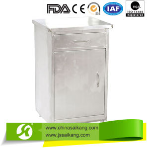 Hospital Stainless Steel Bedside Cabinet pictures & photos