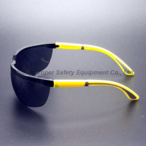 Length Adjustable Legs Eye Protection Glasses with Soft Pad (SG109) pictures & photos