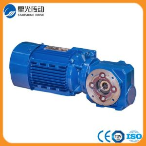S Series Helical-Worm Geared Motor / Gear Box (SAF) pictures & photos