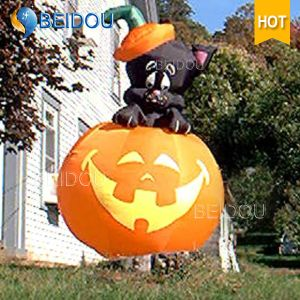 Inflatable Halloween Decorations Giant Inflatable Pumpkin pictures & photos