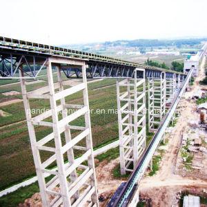 Materials Handling Downward Belt Conveyor / Inclined Conveyor / High Angle Conveyor