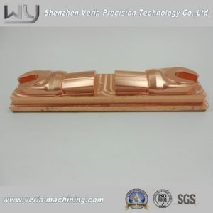 High Precision CNC Machining Copper Part / CNC Machinery Part Electrode Component with Good Quality in China