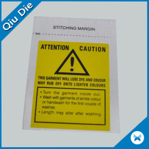 Fashionable Screen Printing Main Labels with Clothing Accessories pictures & photos