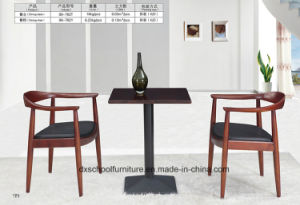 Solid Wood Dining Table and Chair for Home pictures & photos