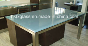 10mm 12mm 15mm Frosted Back Painted Glass with En12150 and ANSI Ceriticate pictures & photos