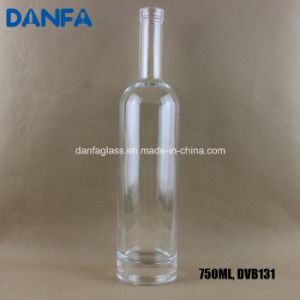 750ml Round Liquor Bottle with Bartop Finish pictures & photos