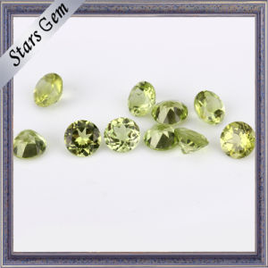 Perfect Natural Cut Peridot Stone Beads pictures & photos