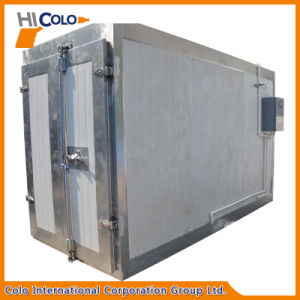 Electrostatic Powder Coating Curing Furnace with 6m Trolley Loading to Germany pictures & photos